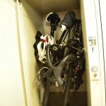 DAHON Curve D7はコインロッカーに収納できる自転車だった!