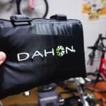 輪行カバーはダメらしいので輪行袋「DAHON Slip Bag 20″」を購入してみた【その1】