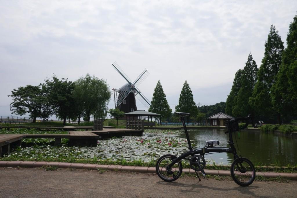 DAHONで行く輪行サイクリング【手賀カフェ&あけぼの山公園編】