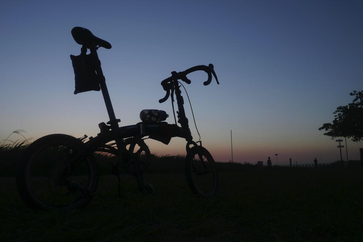 折りたたみ自転車DAHONで行く輪行しないサイクリング【強風の江戸川編】