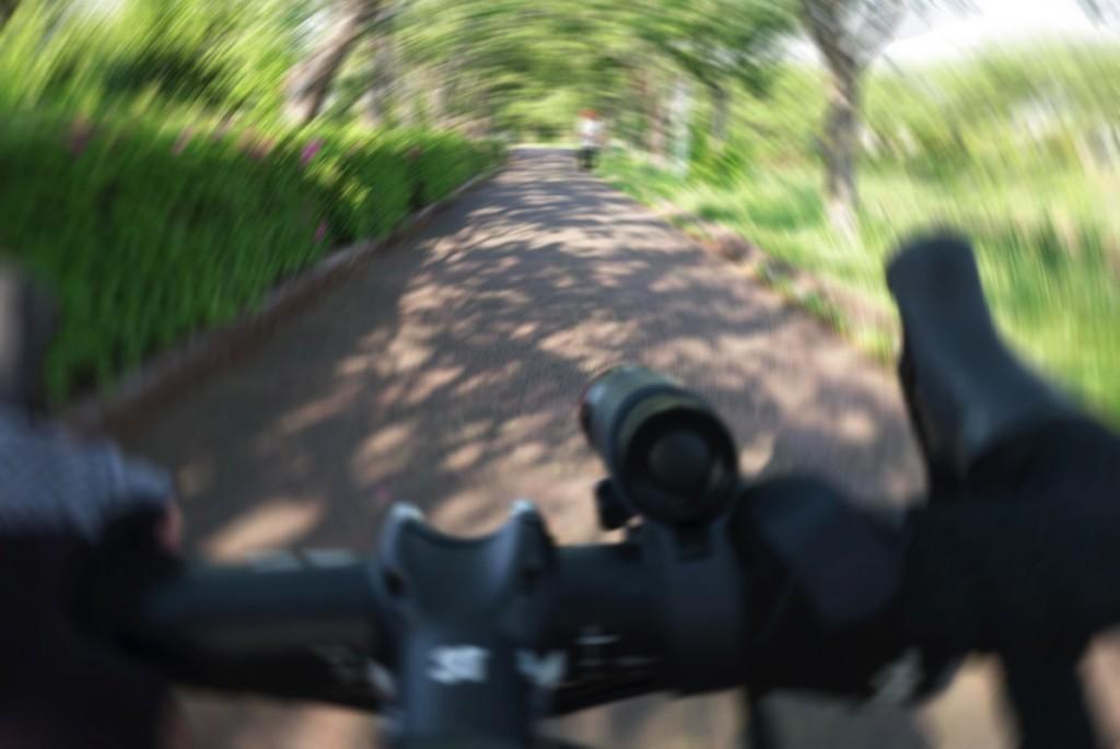 自転車に乗っていると体調が悪いのもすぐにわかります