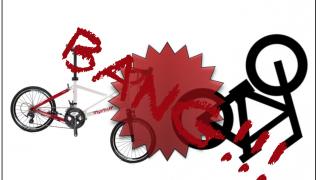 こうすると自転車事故に遭います、その1:道路交通法違反者に抵抗する