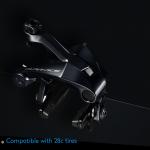 新型DURA-ACEのキャリパーブレーキBR-R9100が地味に改良されていてミニベロにぴったり♪
