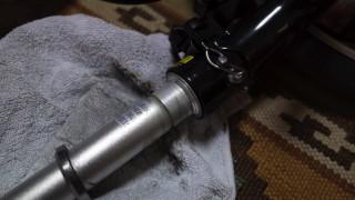 折りたたみ自転車Tyrell FXのハンドルとステムを分解して清掃してみたよ♪