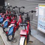 NTTドコモが主催しているバイクシェアで東京散歩をした