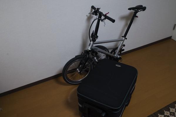 折りたたみ自転車Tyrell IVEで飛行機輪行に挑戦する!【その1:梱包編】