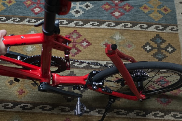 折りたたみ自転車Tyrell FXに6年近く乗っているけれど気になるところ