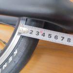 折りたたみ自転車DAHON Curve D7にカーボンフォーク!?その2:キャリパーブレーキはロングアーチで対応したけれど