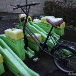 極寒の冬にミニベロで100kmサイクリングをするって本当ですか?