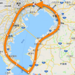 【東京湾一周】極寒の冬にミニベロTyrell FXで200kmサイクリングをしました!【1泊2日】