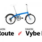【値段同じ?】DAHON RouteとDAHON Vybe D7の主な4つの違い