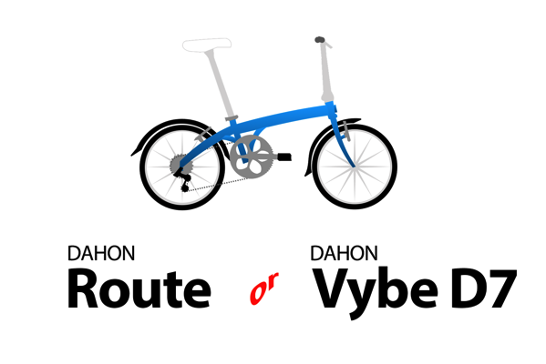 Dahon route or dahon vybe d7