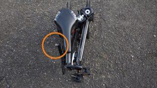 折りたたみ自転車でもっとも邪魔なペダル対策、MKS Ezyを試す