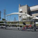 道の駅和田浦WA・O!大迫力!シロナガスクジラ模型と記念撮影をしよう!