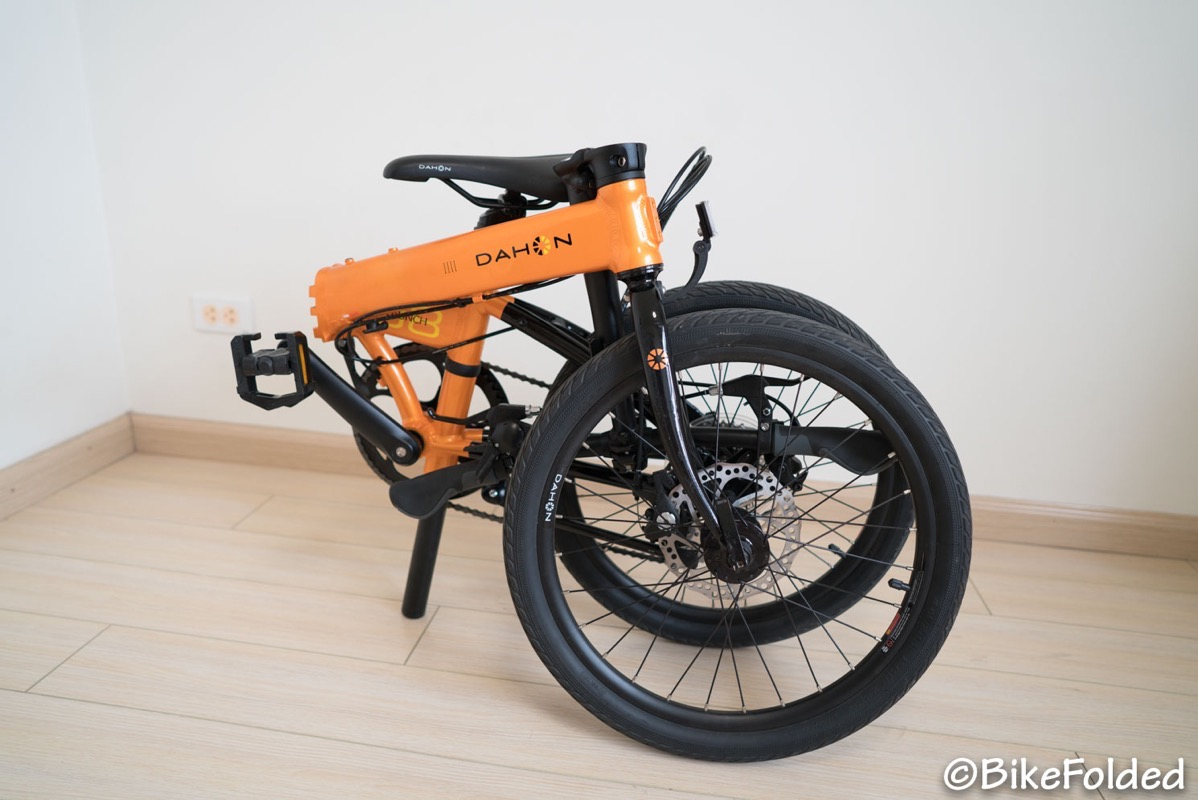 Dahon launch d8 folding bike 3