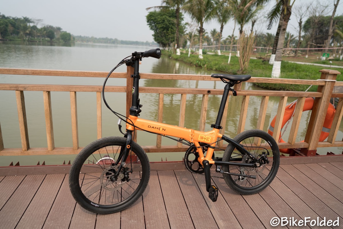 Dahon launch d8 folding bike 5