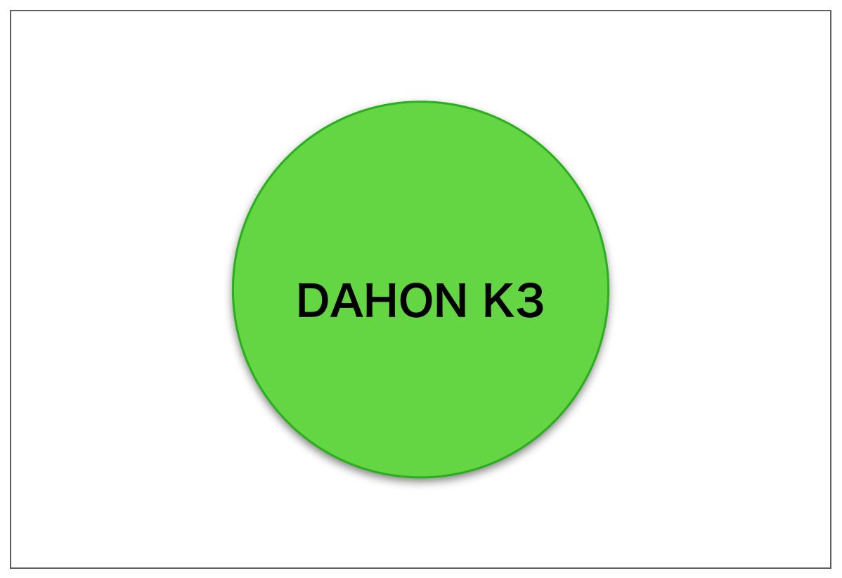 Dahon k3 green logo
