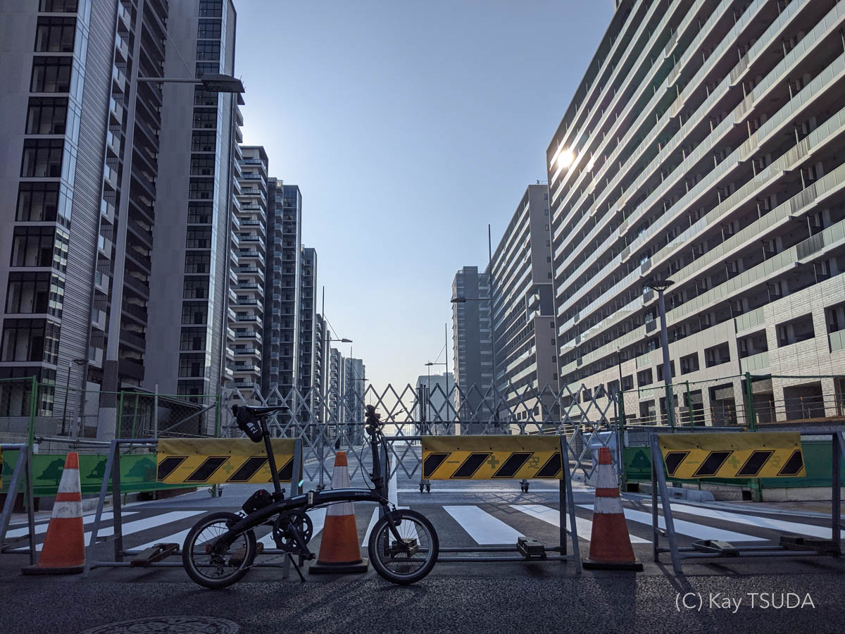 Dahon curve d7 goes around chuo city 12