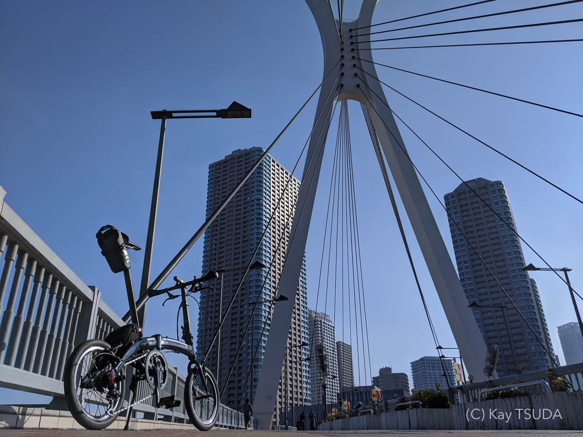 Dahon curve d7 goes around chuo city 7