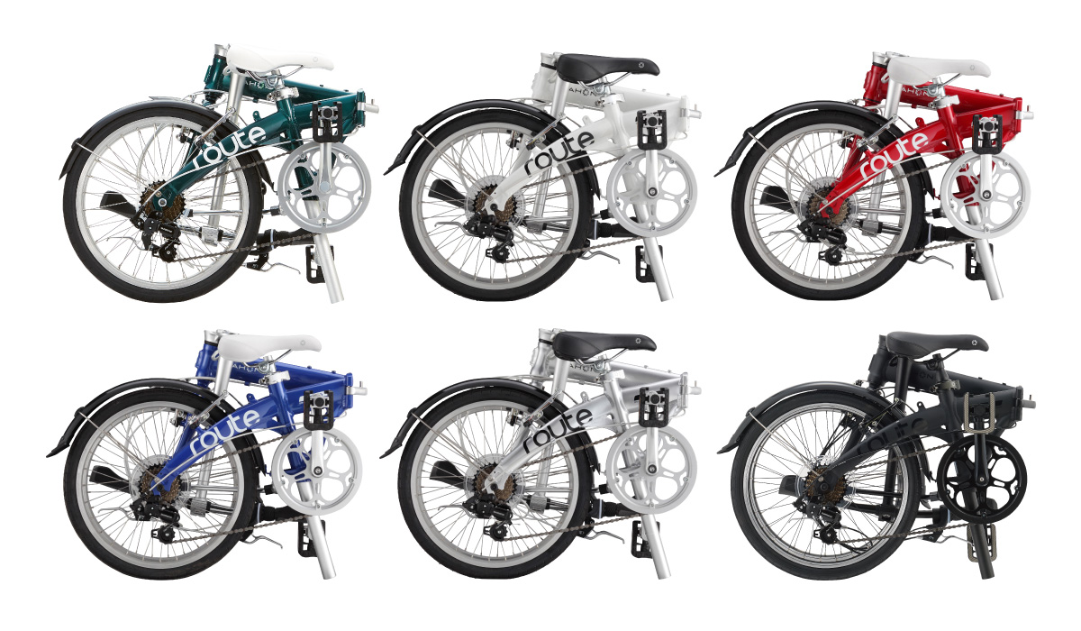 I tested dahon route 01