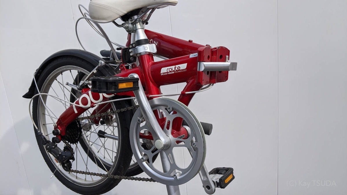 I tested dahon route 11