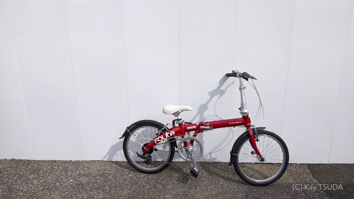 I tested dahon route 4
