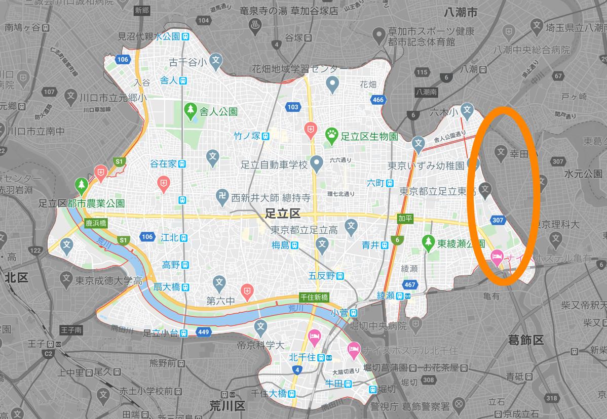 Adachi ward map 03