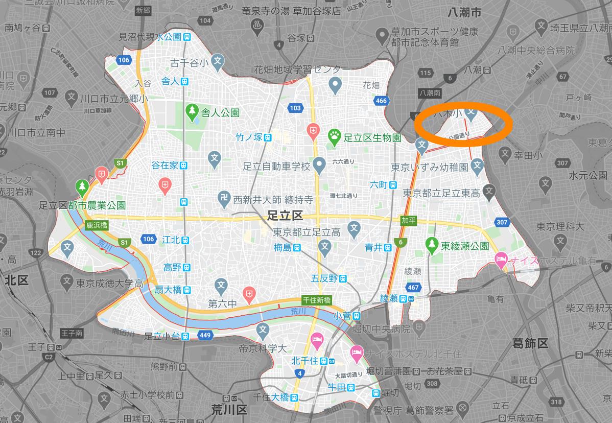 Adachi ward map 04