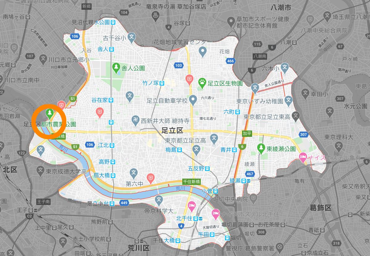 Adachi ward map 05