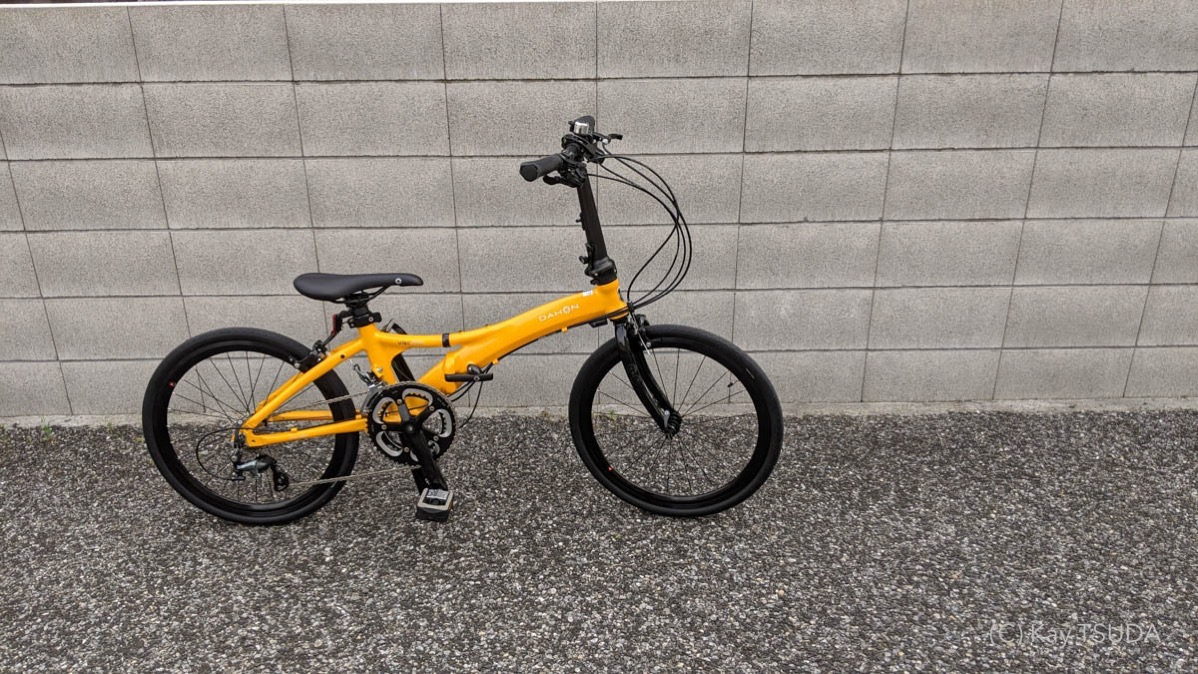 I tested dahon visc evo 10