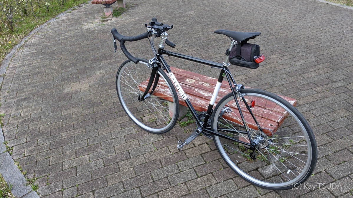 Lets commute with your roadbike 3