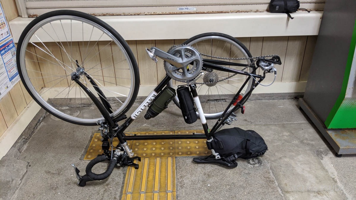 How to pack up your roadbike 7