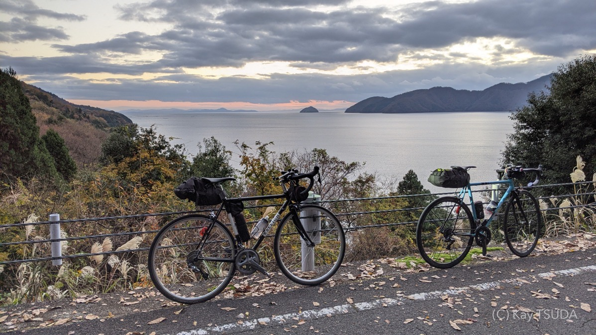 A round trip of lake biwa 15