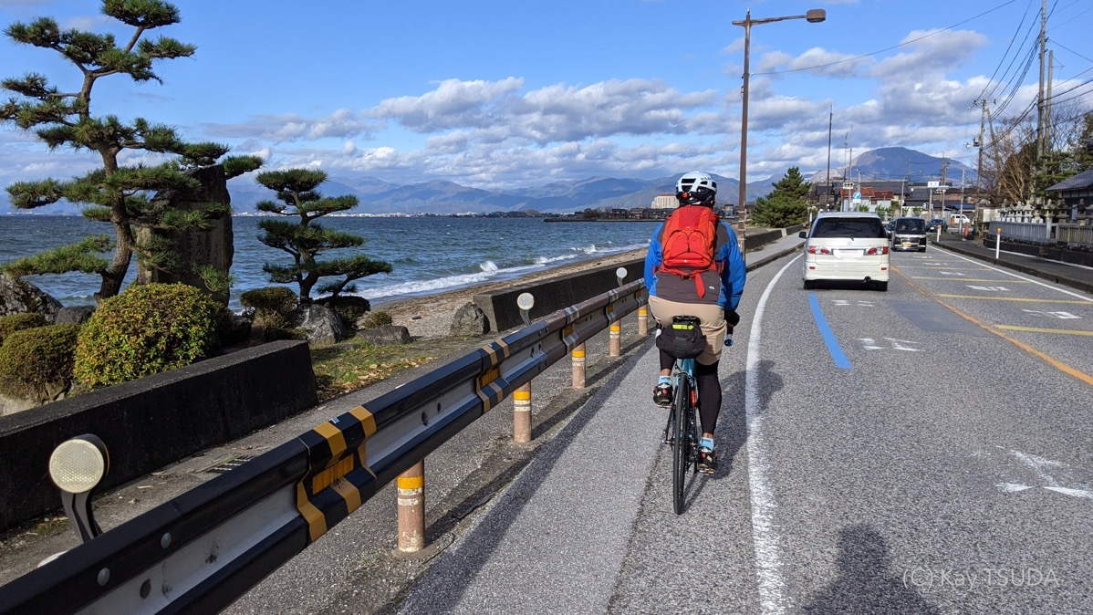 A round trip of lake biwa 9