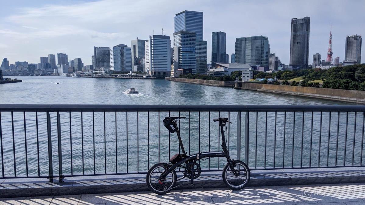 Sumida river cycling 1