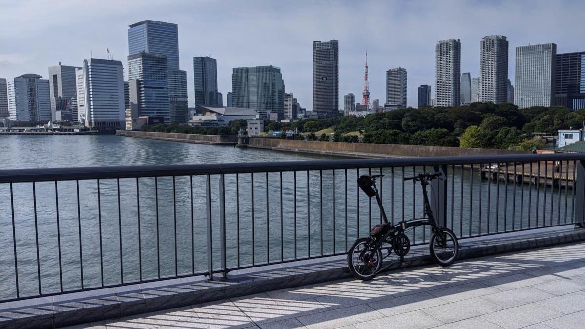 Sumida river cycling 11