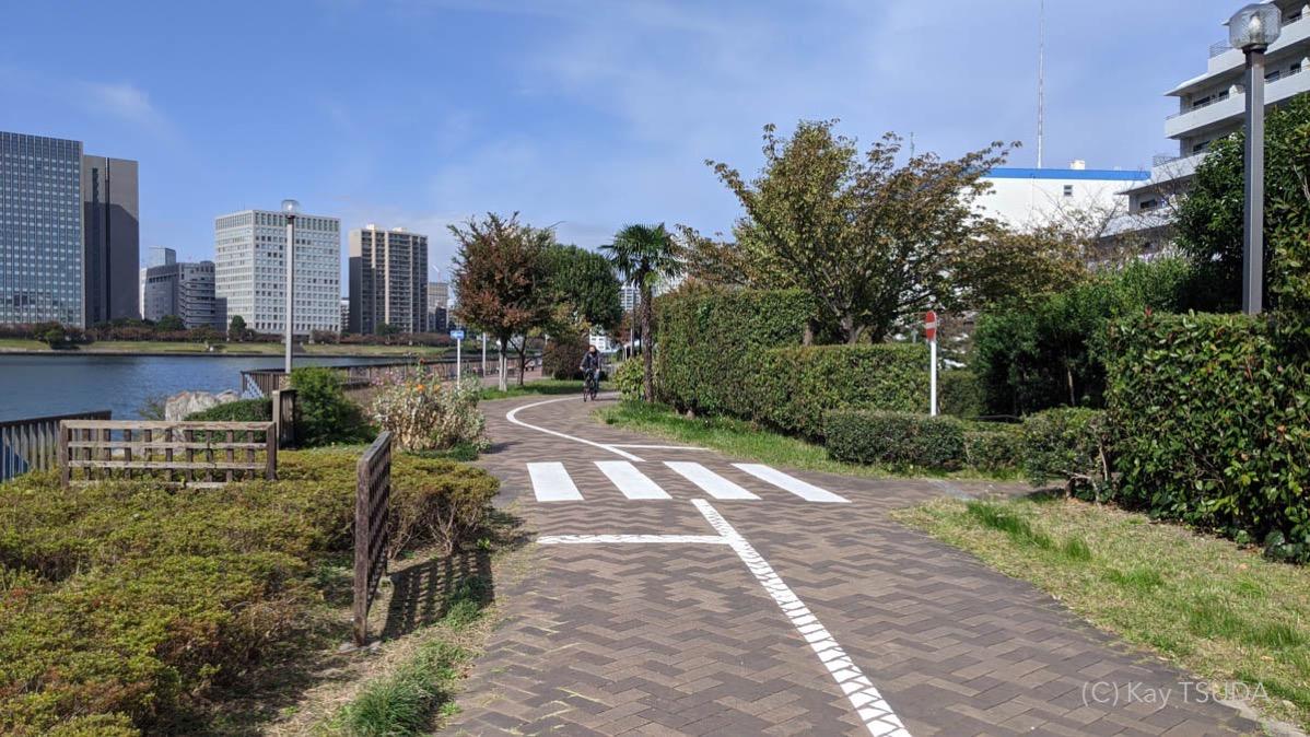Sumida river cycling 13
