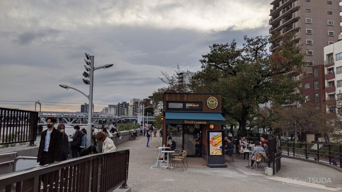 Sumida river cycling 17