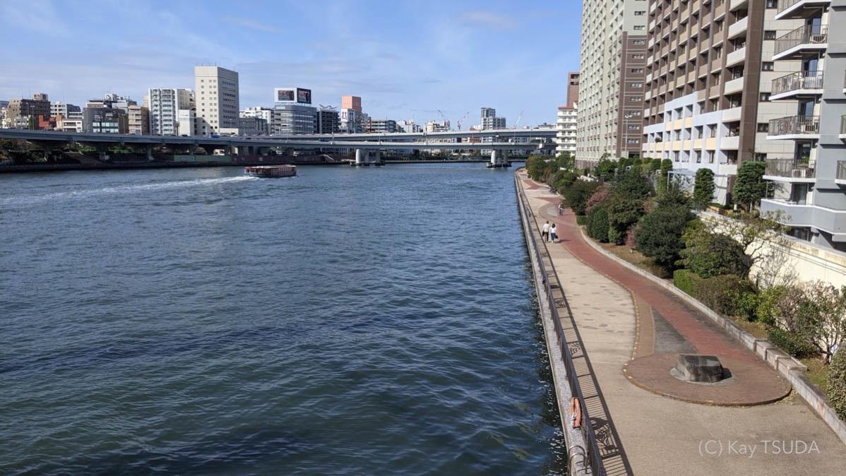 Sumida river cycling 21