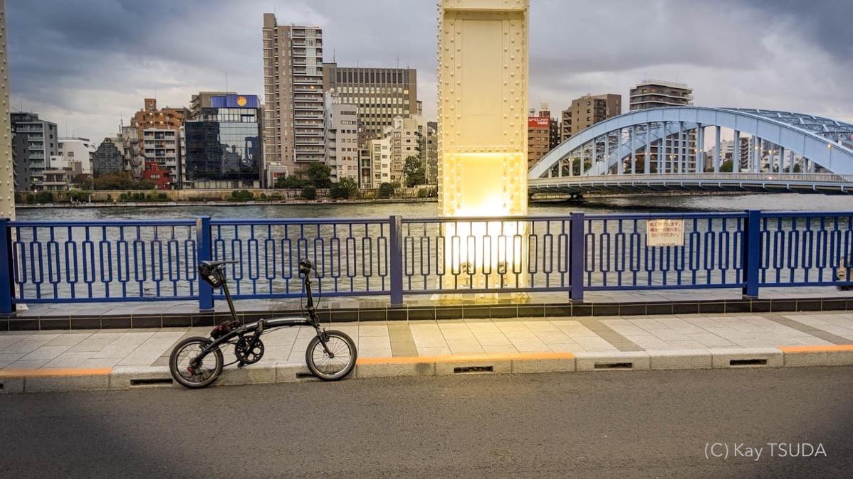 Sumida river cycling 3