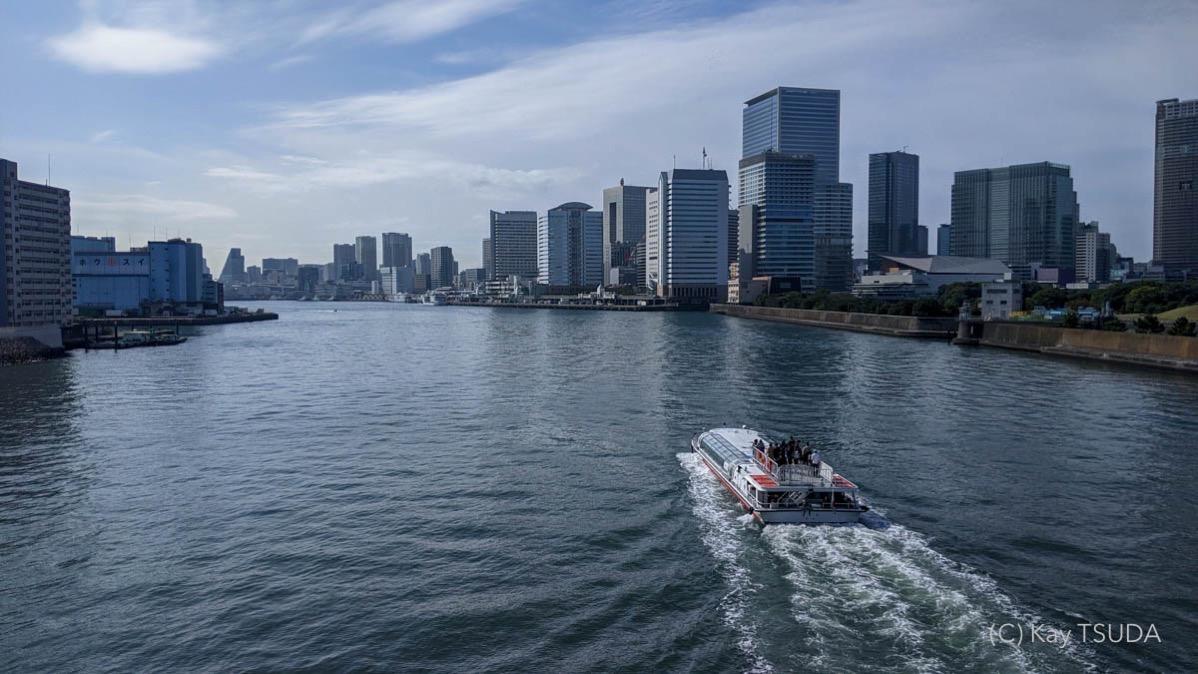 Sumida river cycling 4