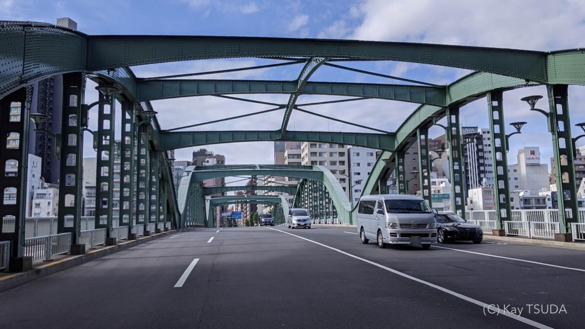 Sumida river cycling 6