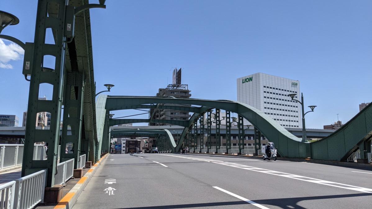 Sumida river bridges 14