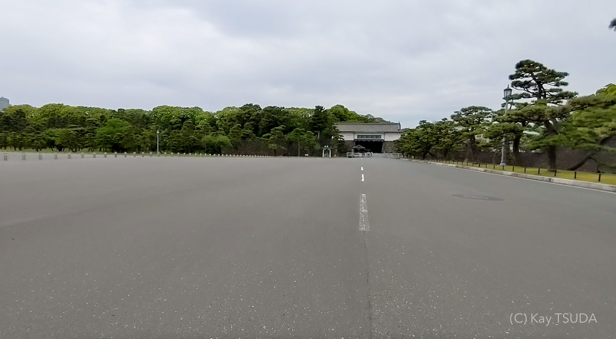 A trip around the imperial palace in 2021 14
