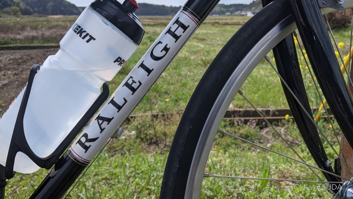I cycled 5000km by raleigh crf 5
