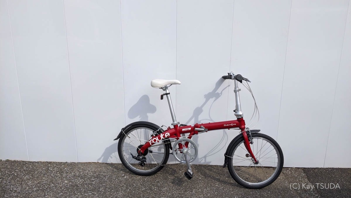 I tested dahon route 2