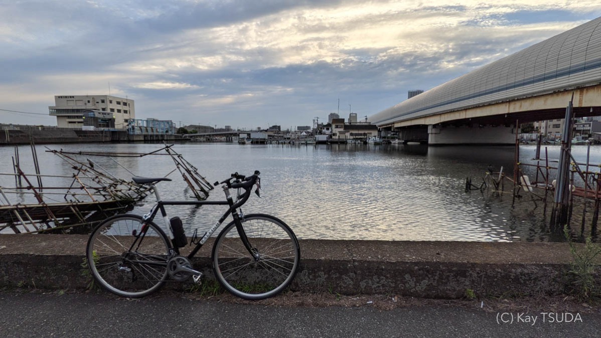 The best route for the tokyo bay round trip 6